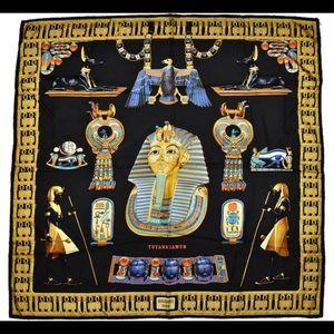 Hermès Black Paris King Tutankhamun